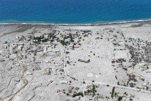 Montserrat village destroyed by volcano eruption www.njcharters.com
