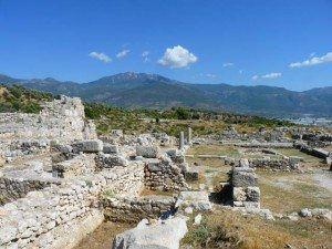 Xanthos, Turkey, Agora Ruins www.njcharters.com