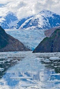Sawyer Glacier in Tracy Arm Fjord, Alaska www.njcharters.com