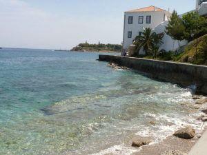 Spetses Island Coast