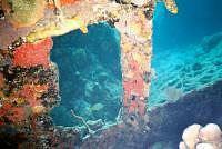 Wreck of Rhone 3 www.njcharters.com