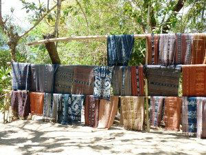 Ikat Textile Weaving, Watublapi Village, Indonesia www.njcharters.com