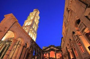 Split Diocletians palace www.njcharters.com