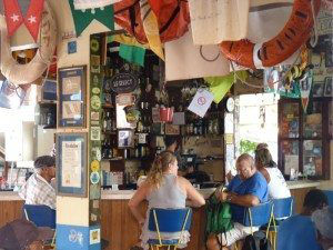 St. Barths Le Select Interior Bar www.njcharters.com