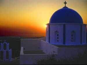 Sunrise in Santorini www.njcharters.com