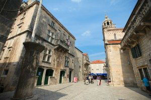 Central Square Korcula www.njcharters.com