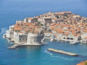 Dubrovnik Croatia aerial www.njcharters.com