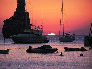 Ibiza Famous Sunset www.njcharters.com