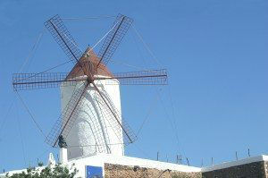 Menorca Windmill, Spain