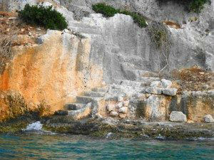 Tersane Bay, Turkey, Ancient Harborside Ruins www.njcharters.com
