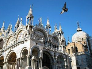 Venice St. Mark's Cathedral in St. Mark's Square www.njcharters.com
