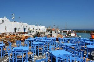 Paros Island Naousa Town www.njcharters.com