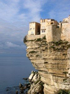 Bonifacio on the Chalk Cliffs www.njcharters.com #DestinationConfidential