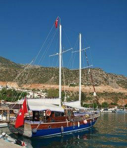 Turkish Gulet in Kalkan www.njcharters.com #DestinationConfidential