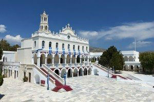 Tinos Island Church of Madonna www.njcharters.com