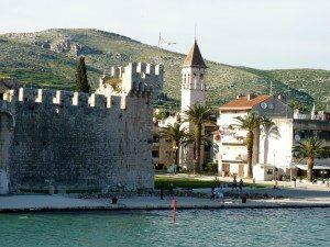 Trogir Fortress Walls www.njcharters.com